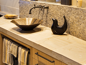 honed-limestone-countertop