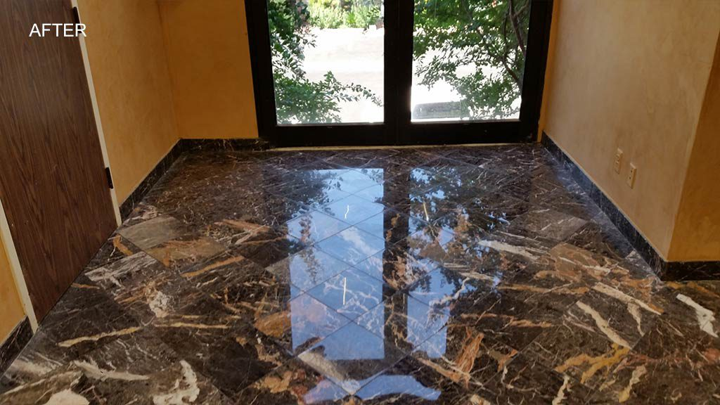 Marble Entrance Before