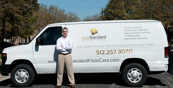 Gold Standard Floor Care Van