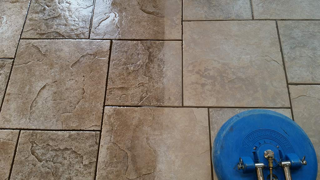 Dirty and Clean Tile Comparison