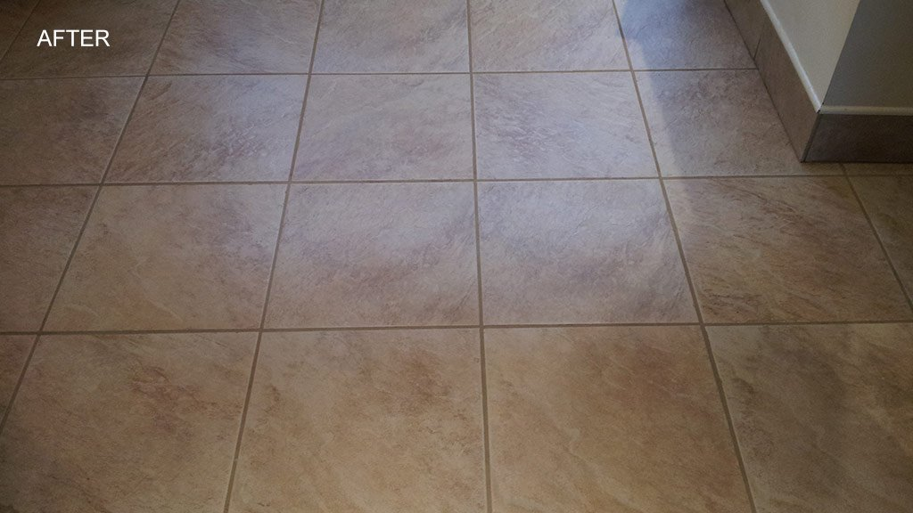 Grout Lines Deep Cleaned