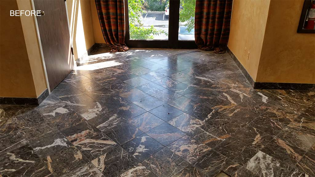 Marble Entrance After