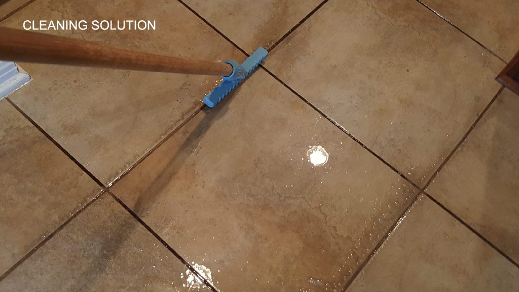 Porcelain Tile And Grout Cleaning And Sealing Gold