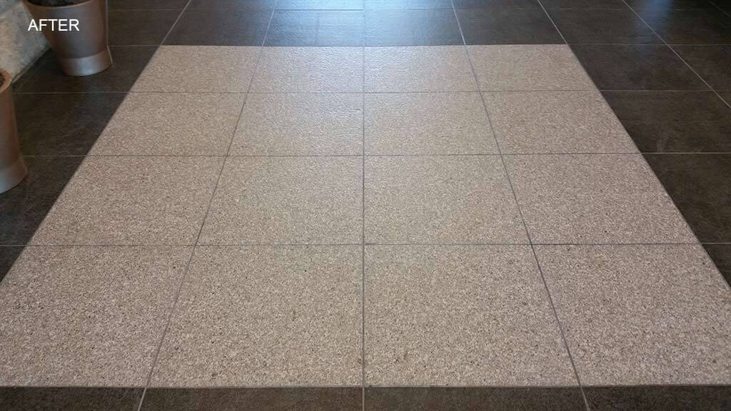Flamed Granite Floor Restoration Austin TX