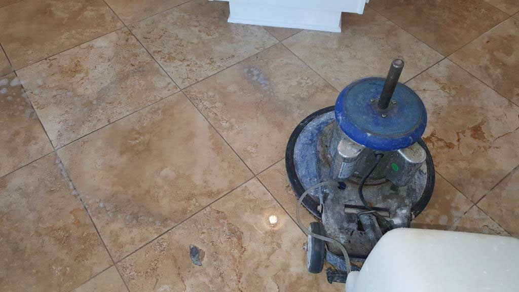 Travertine Floor Cleaning Service