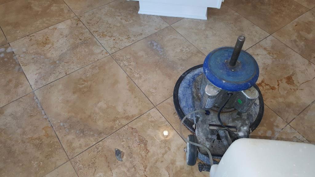 Travertine Floor Cleaning Service