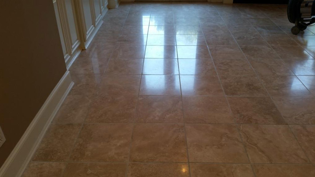 Living Room Travertine After