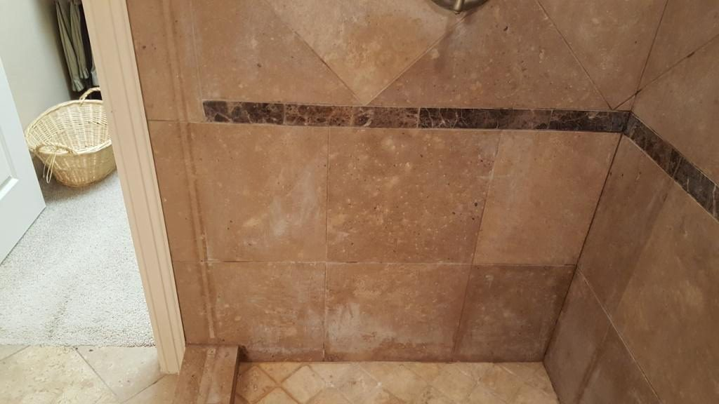 Professional Travertine Shower Cleaning Austin Tx