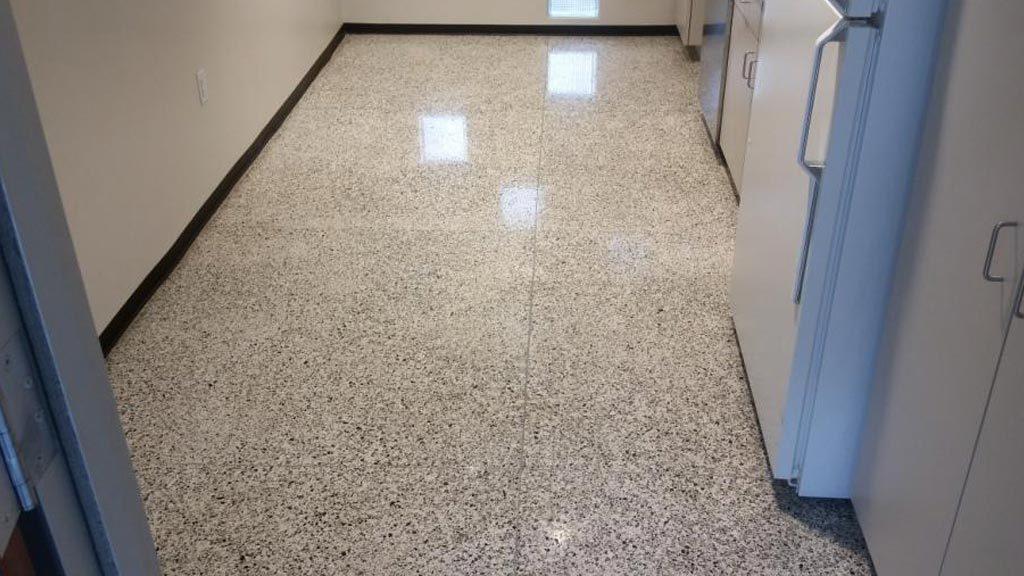 Terrazzo Floor Honing Polishing And Sealing Austin