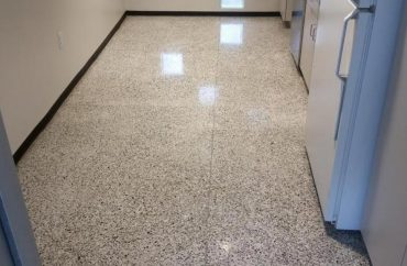 Honed and Polished Terrazzo