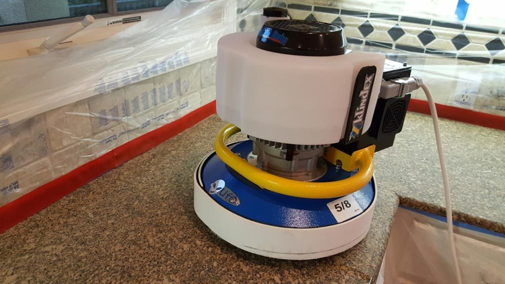 Countertop Restoration Machine