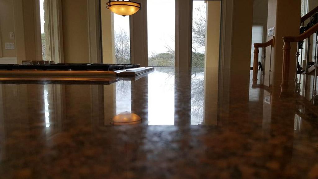 Granite After Refinishing