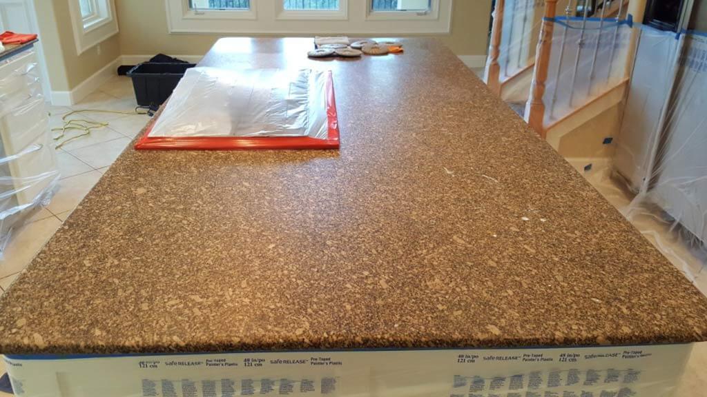 Granite Restoration Preparation Process