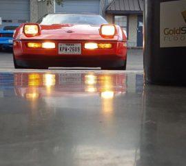 Concrete Floor After Polishing